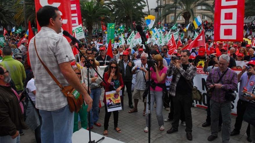 De la manifestación en LPGC #11
