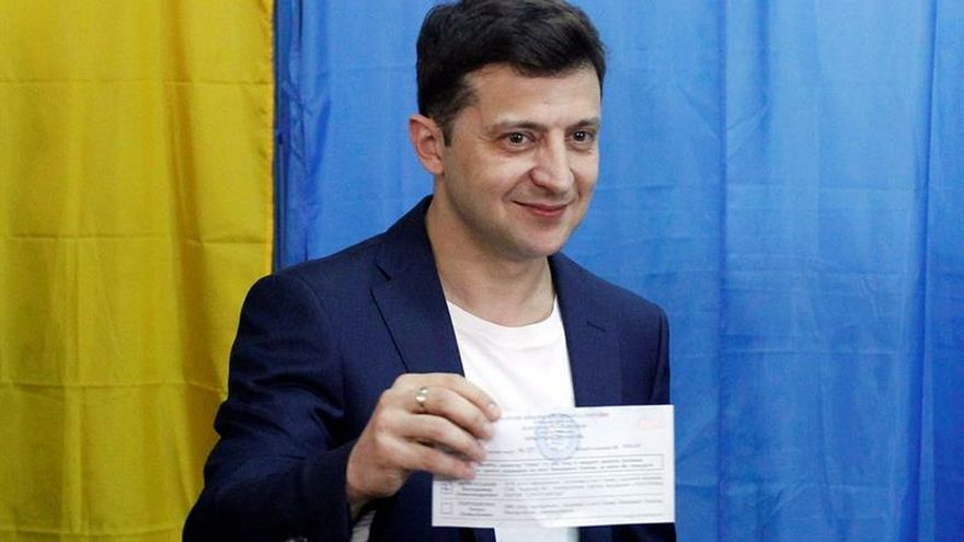 El actor Zelenski desbanca a Poroshenko de la Presidencia ucraniana