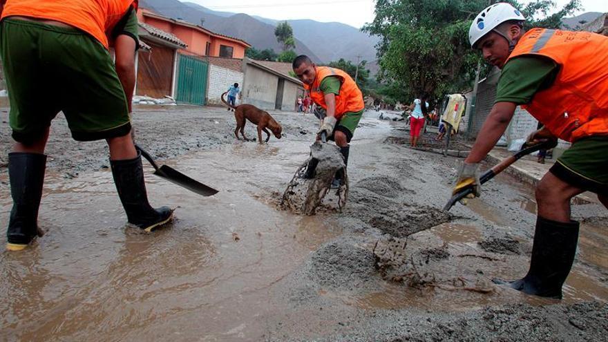 Los afectados por inundaciones en Perú superaron el millón de habitantes