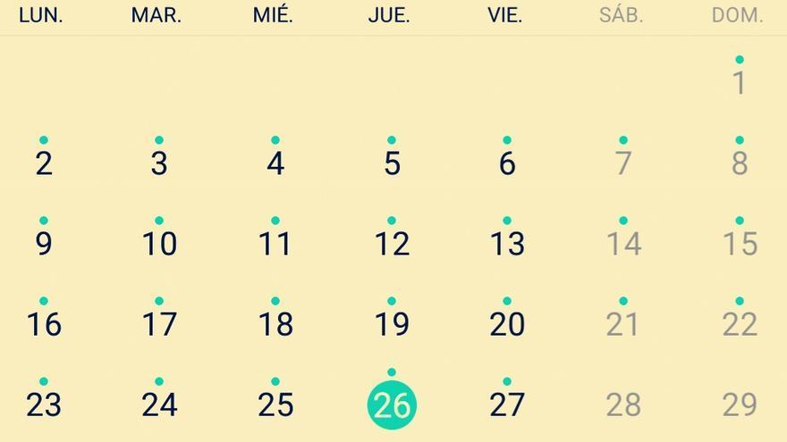 Ocho de once (jueves)