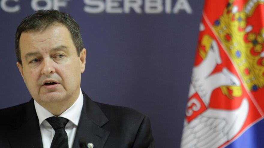 El ministro de Exteriores de Serbia, Ivica Dacic.