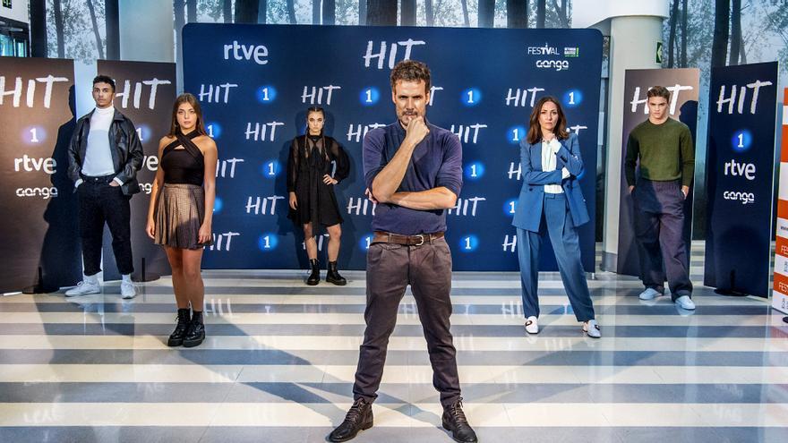 El elenco de 'Hit' en el FesTVal