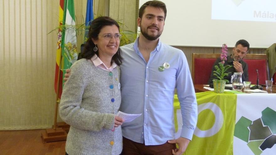 Carmen Molina y Francisco Sánchez, elegidos nuevos coportavoces de Equo Andalucía