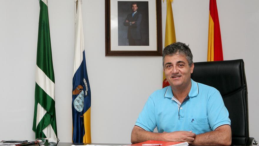 El alcalde de Ingenio, Juan Díaz (PSOE). Foto: Alejandro Ramos.