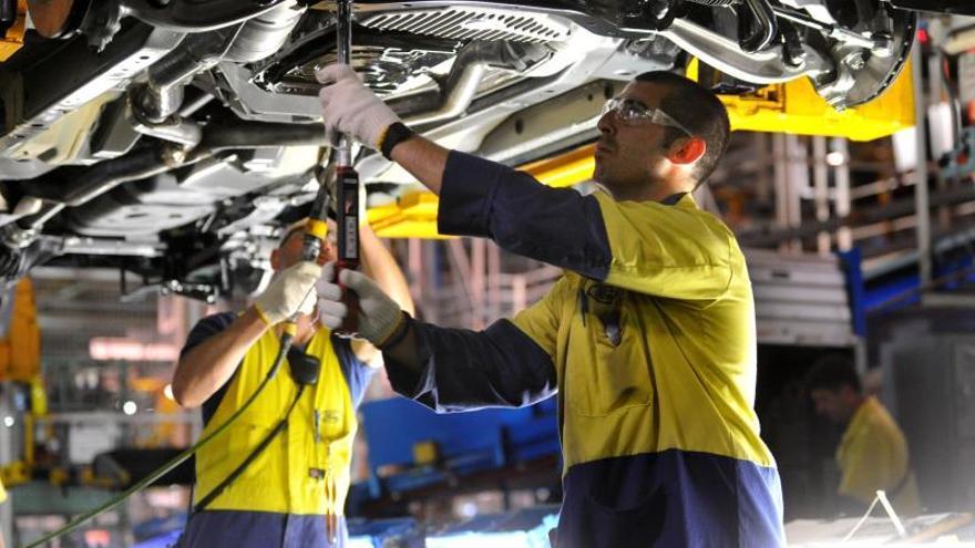 La producción automovilística española crece un 9,3 por ciento en 2013