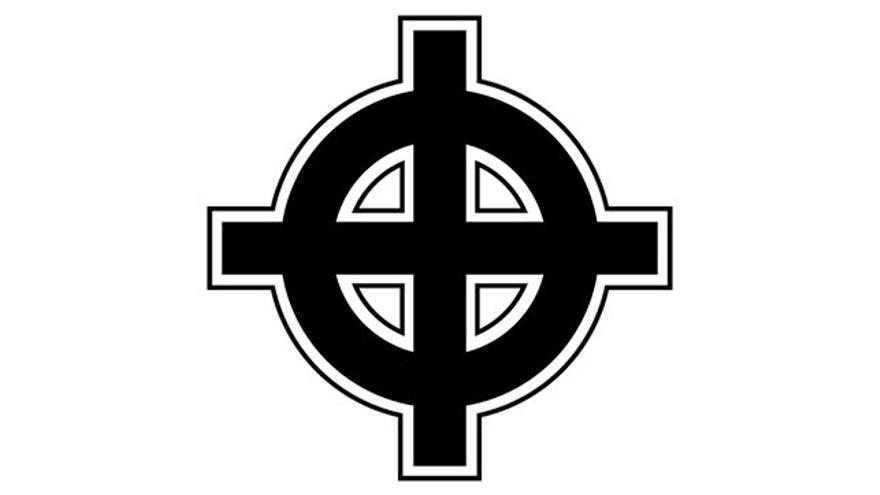 Una cruz céltica, utilizada por grupos ultraderechistas
