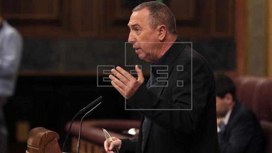 Compromís reclama una reforma de la Constitución para blindar las pensiones