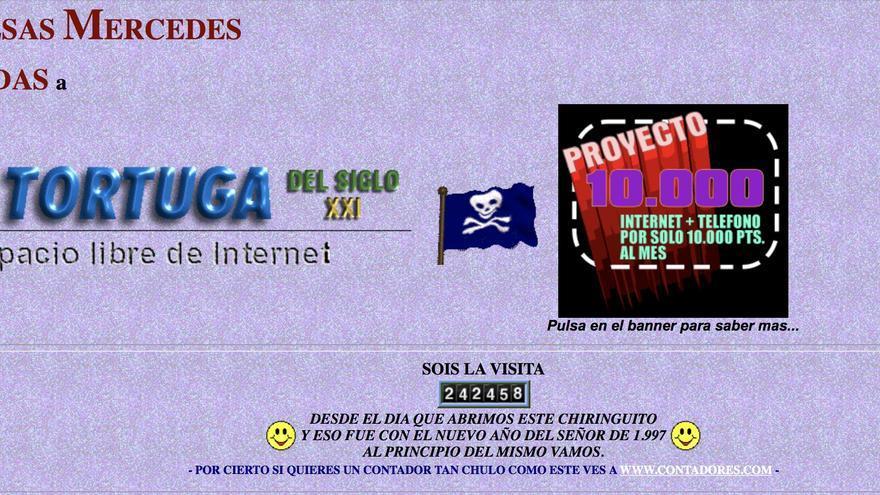 Así era Isla Tortuga en enero de 1998