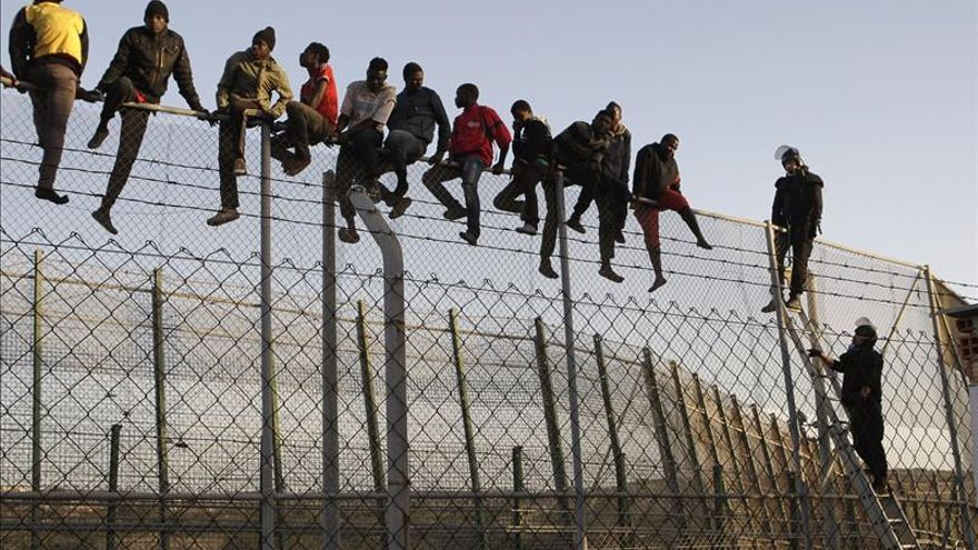 España gasta 22.000 euros al día en las vallas fronterizas con Marruecos