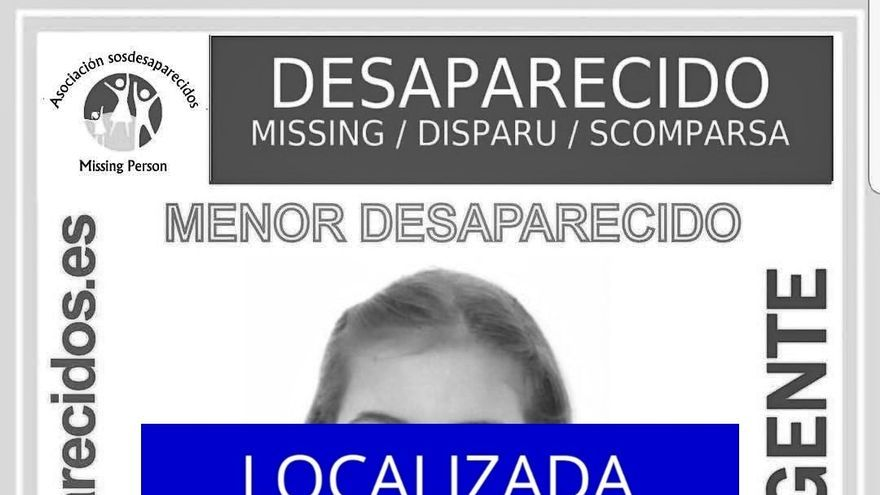 Localizada en buen estado la niña de 12 años desaparecida en Camargo (Cantabria) el 16 de marzo