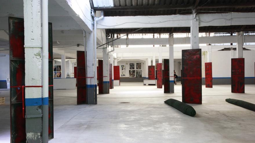 'Lacalde', antigua fábrica de calderería y estampación, a donde ZAWP plantea moverse