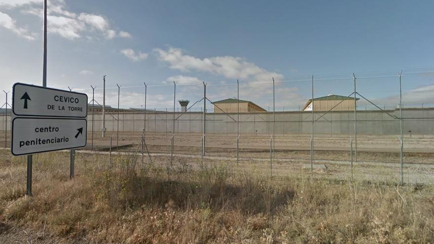 La prisión de La Moraleja, en Dueñas, Palencia (agosto de 2014)