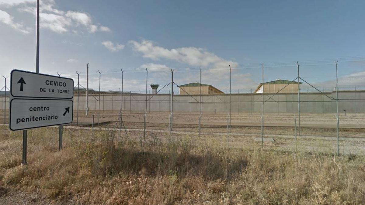 La prisión de La Moraleja, en Dueñas, Palencia, en una imagen de archivo.
