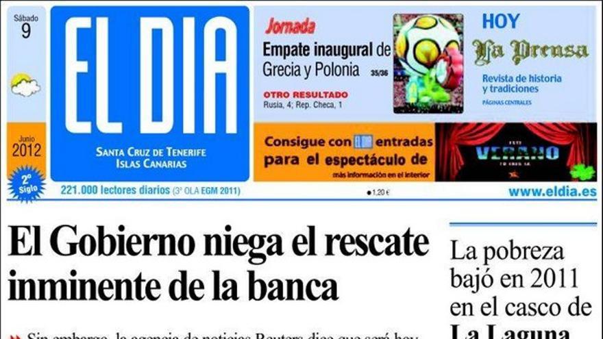 De las portadas del día (09/06/2012) #2