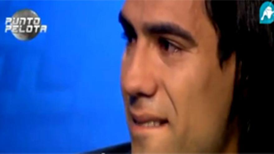 Falcao en 'Punto Pelota': los 'tigres' también lloran