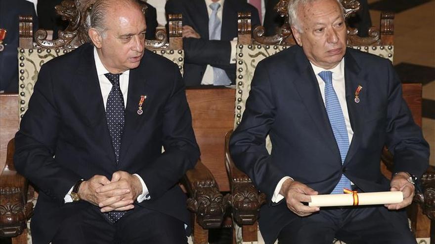 García-Margallo y Fernández se reúnen en el Vaticano con el arzobispo Gallagher