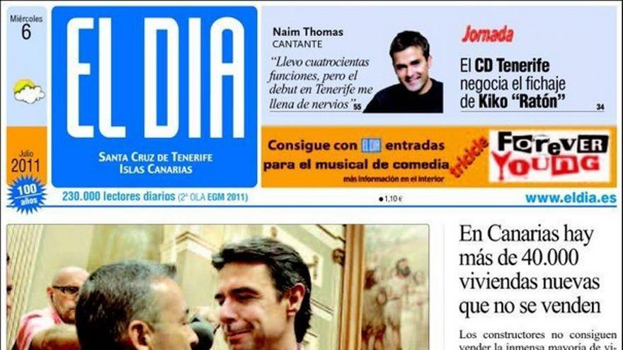 De las portadas del día (06/07/2011) #2