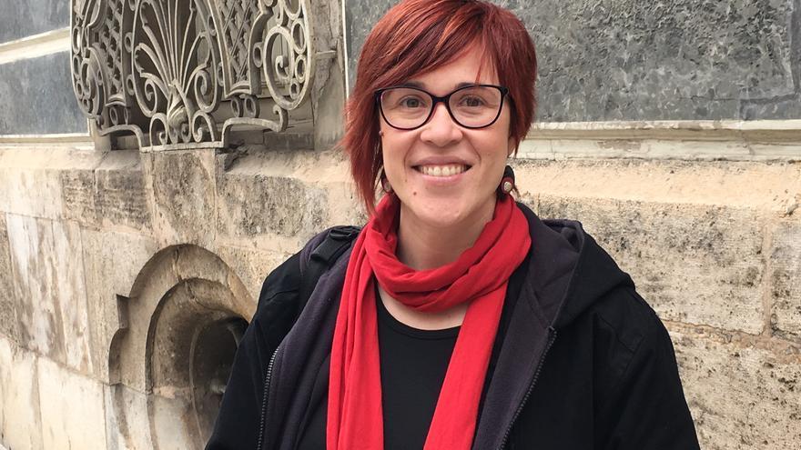Àgueda Micó, dirigente del Bloc y de Compromís.
