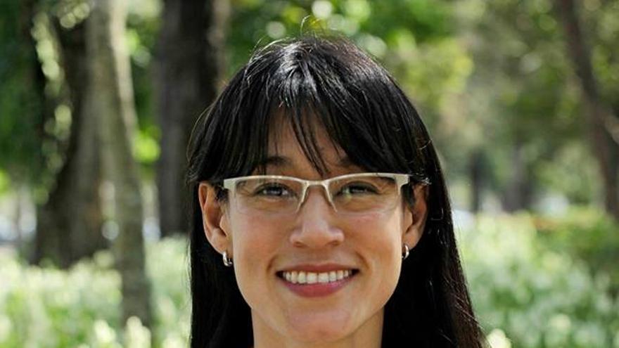 Lucrecia Hernández, diputada del Movimiento Semilla de Guatemala