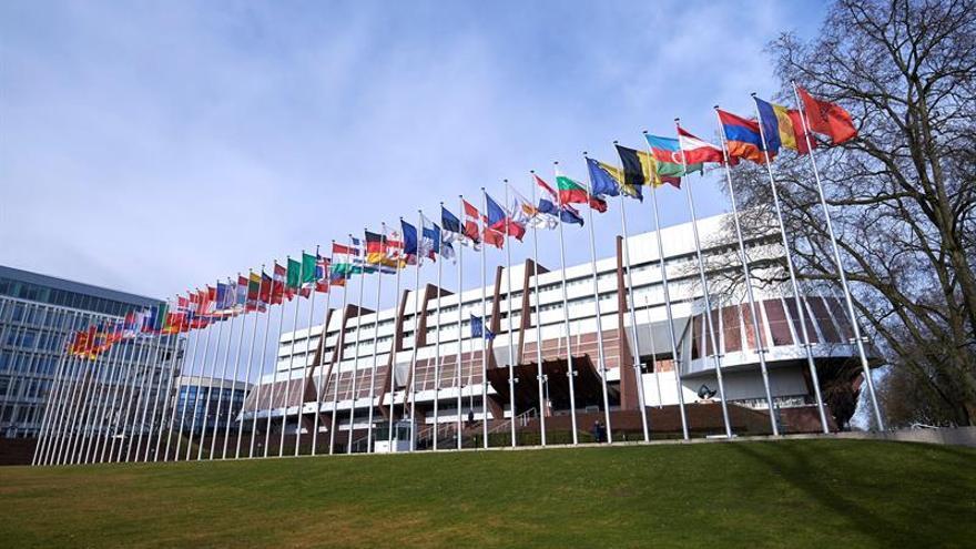 Vista de las sede del Consejo de Europa en Estrasburgo (Francia).