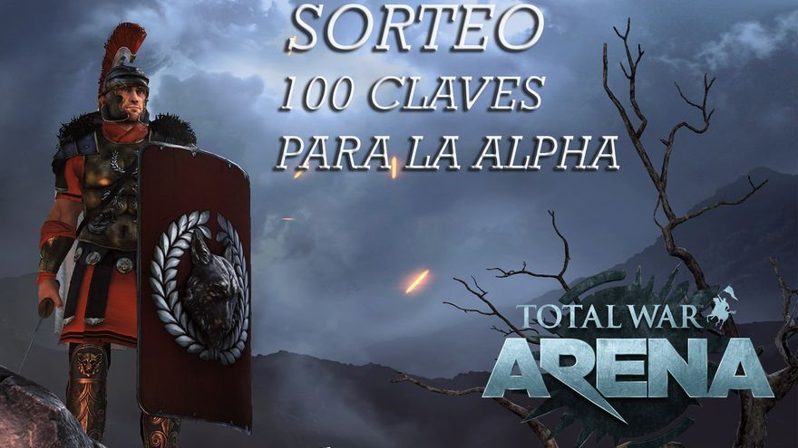 sorteo claves alpha total war arena