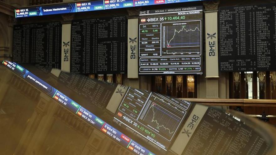 El Banco Popular corrige su desplome y sube casi un 2,50 %