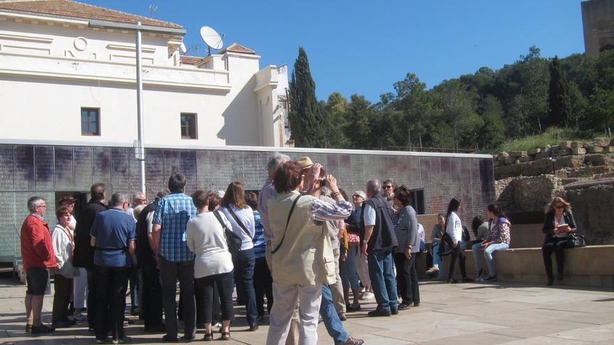 Málaga capital registra el mejor octubre de la historia en número de turistas