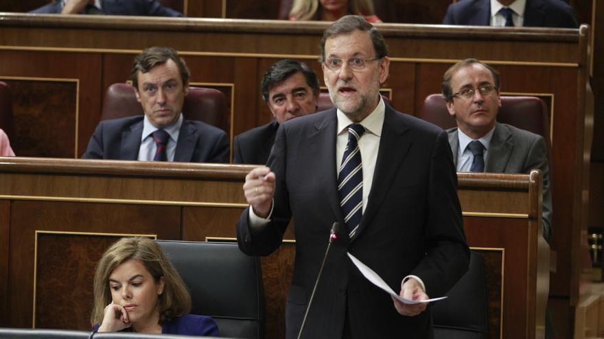 """Rajoy advierte de que la democracia es """"el imperio de la ley"""" y subraya que """"nadie puede saltársela"""""""