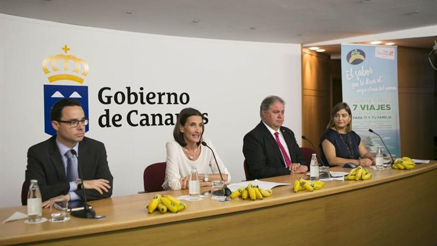 La Consejería de Turismo y la Asociación de Organizaciones de Productores de Plátanos de Canarias (ASPROCAN) ponen en marcha una acción para impulsar el producto.