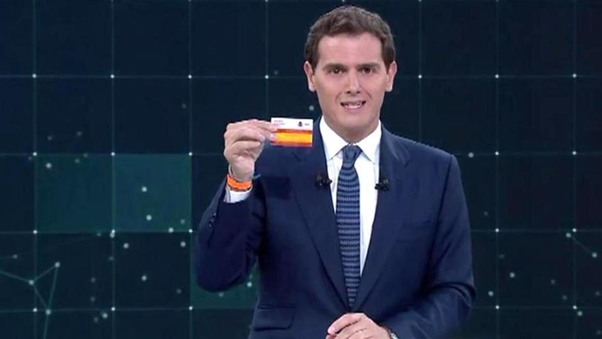 Albert Riverea, durante el debate de RTVE