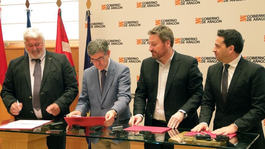 Gipuzkoa firma el proyecto ALERT para reforzar la gestión de emergencias en el ámbito transfronterizo