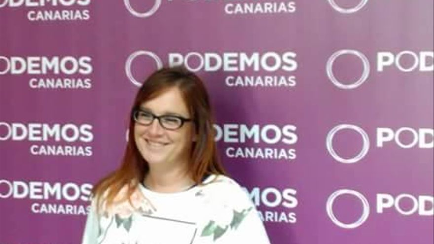 Nati Arnáiz, diputada de Podemos en el Parlamento de Canarias (PODEMOS)
