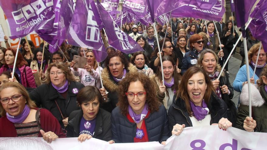 UGT-A y CCOO-A cifran en más de un 60% el seguimiento durante la mañana de los paros convocados en Andalucía