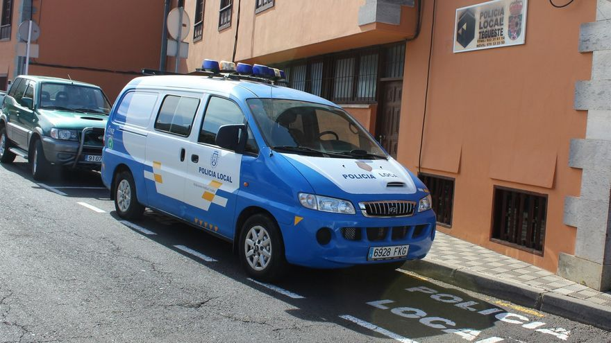 La Policía Local de Tegueste salva la vida a una mujer que fue encontrada inconsciente por una fuga de gas