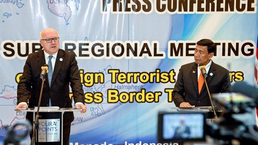 Seis países de Asia-Pacífico acuerdan mayor cooperación contra el EI