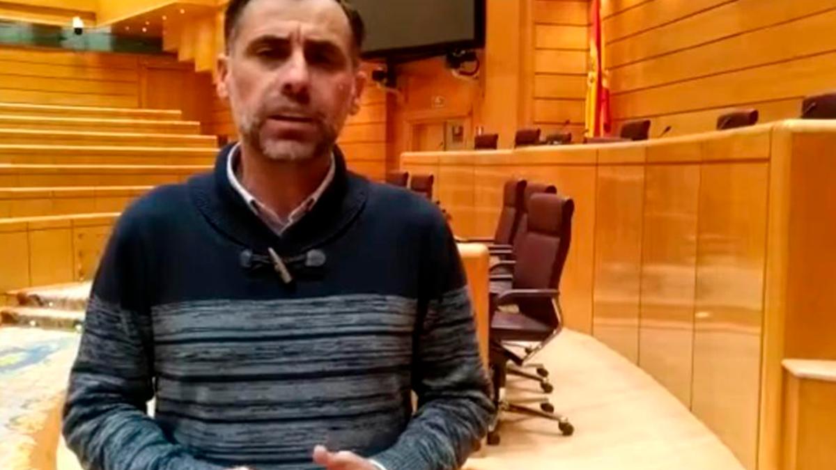 El senador del PSOE Alfonso Muñoz.