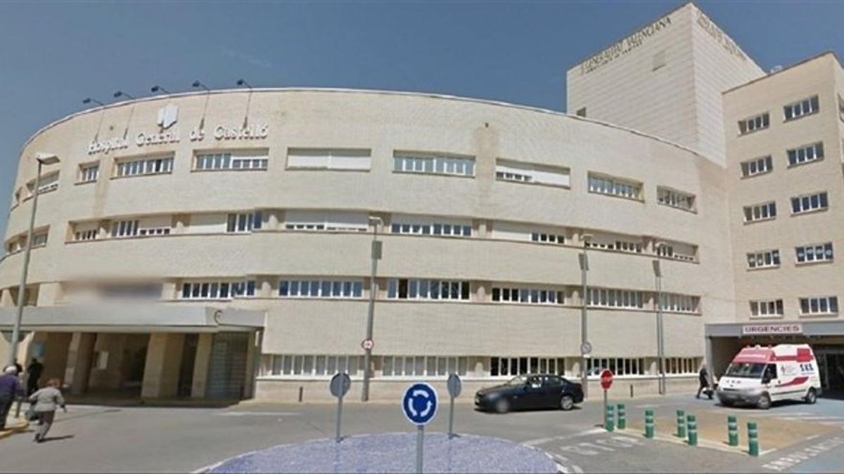 Entrada del Hospital General de Castelló.