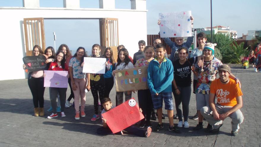 En la imagen, una de las actividades del programa 'Embárriate'.