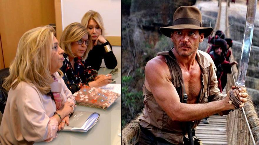 Las Campos, vs. Indiana Jones