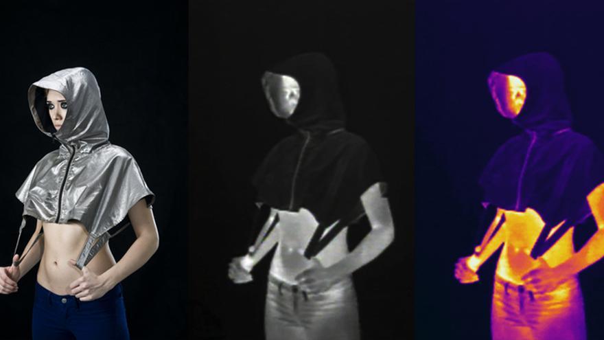'Stealth Wear' es la línea de ropa antidrones que ha diseñado Adam Harvey