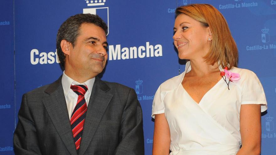 Rogelio Pardo, delegado de la Junta de Castilla-La Mancha en Cuenca, y Cospedal / Foto: Junta