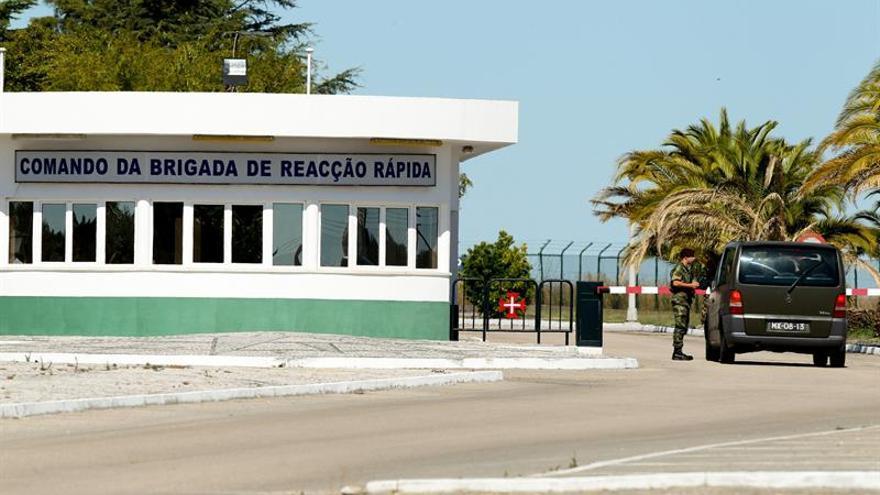 El Ejército portugués cerrará el depósito donde se produjo un robo de armas