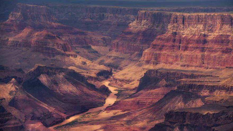 El Gran Cañón desde el aire. Dan Zafra
