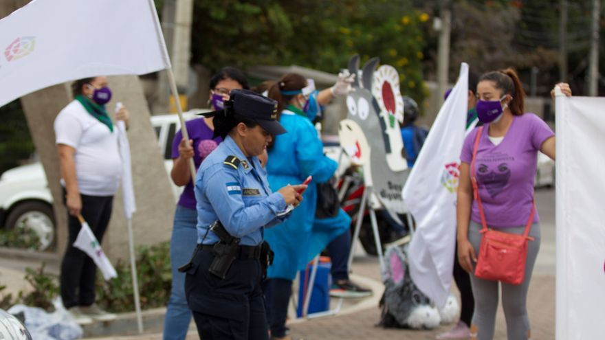 Hondureñas conmemoran su día exigiendo despenalizar el aborto y el fin de violencia