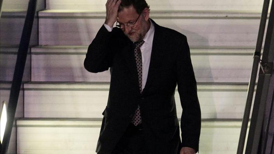 Rajoy llega a Brisbane para participar en la cumbre del G20. EFE