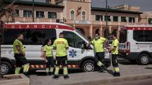 Sanitarios en la Malva-rosa (València).