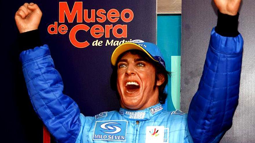 'Los crímenes del museo de cera' con Fernando Alonso triunfan en el canal TCM