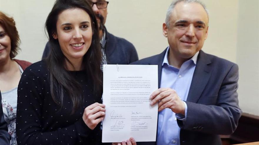 La derogación del voto rogado une a PSOE y U.Podemos y aleja al PP