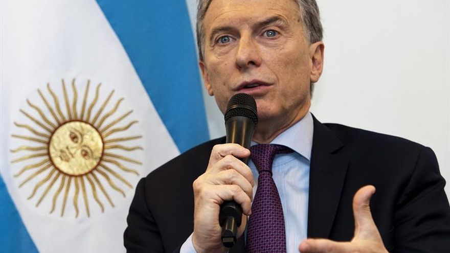 """Macri afirma que el """"brexit"""" no cambia el reclamo de Argentina sobre Malvinas"""