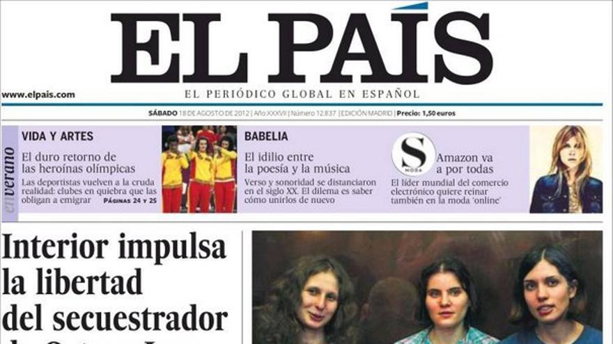De las portadas del día (18/08/2012) #8